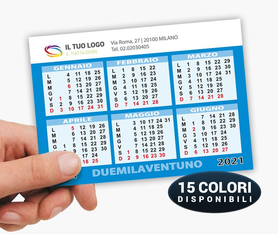 Calendario Tascabile 2021 Pdf Calendario Tascabile   Modello 2 | CalendarioClick