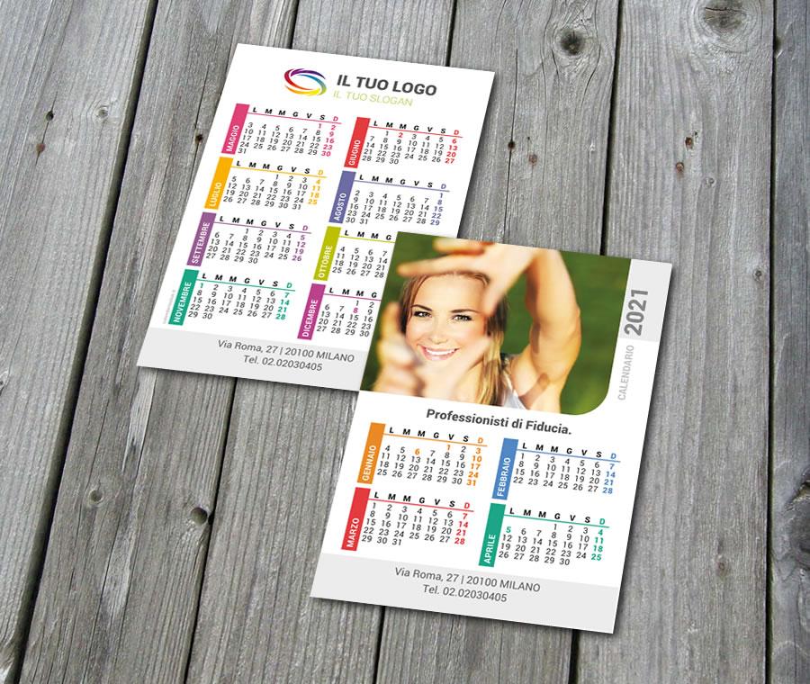 Calendario Tascabile   Modello 3 | CalendarioClick