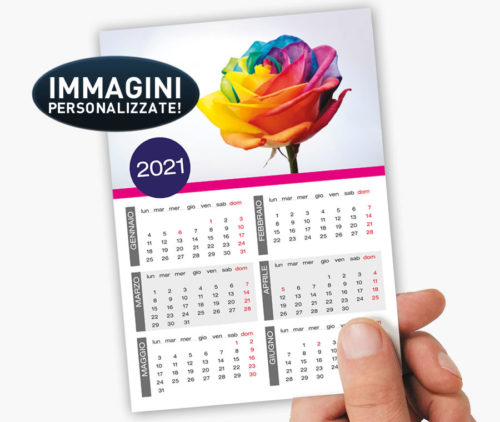 calendari tascabili plastificati