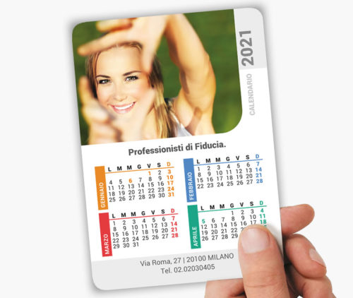 calendari tascabili da stampare