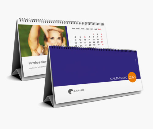 calendari personalizzati da tavolo