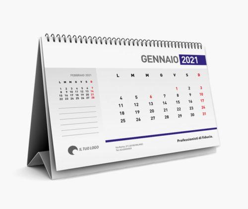 stampa calendari da tavolo personalizzati