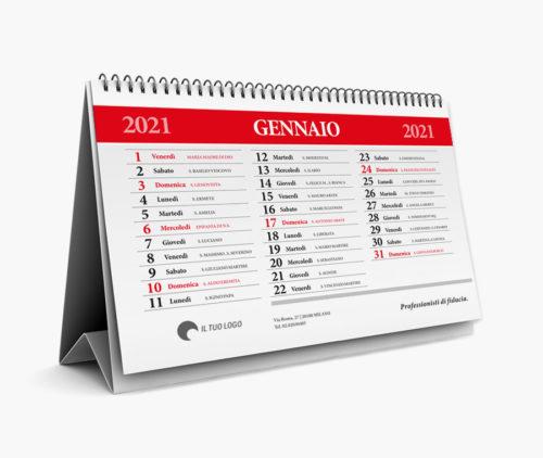 calendario 2021 personalizzato