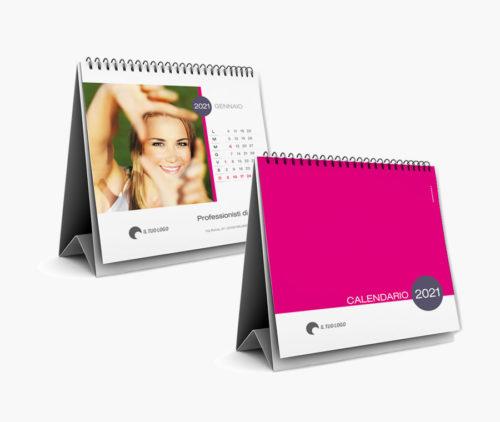 calendari da tavolo per aziende