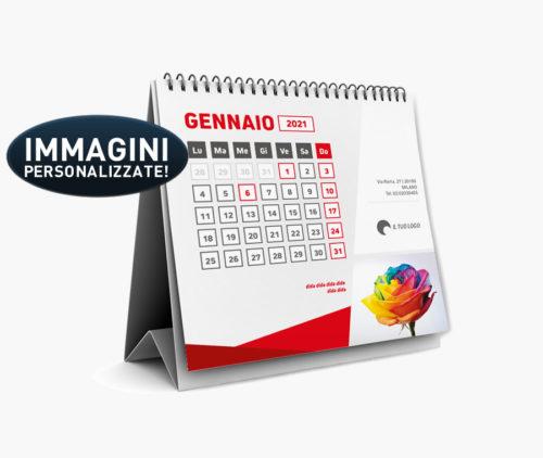 calendario da tavolo personalizzabile