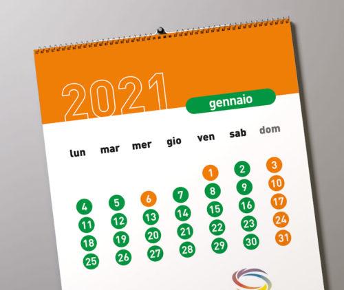 stampe calendari personalizzati