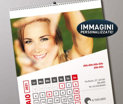 calendari personalizzati 2021