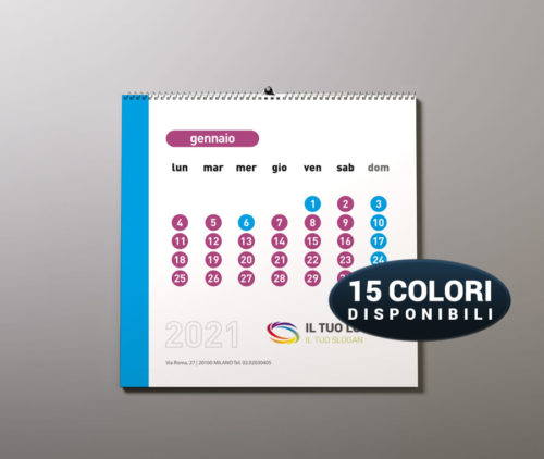 calendario a4 da stampare