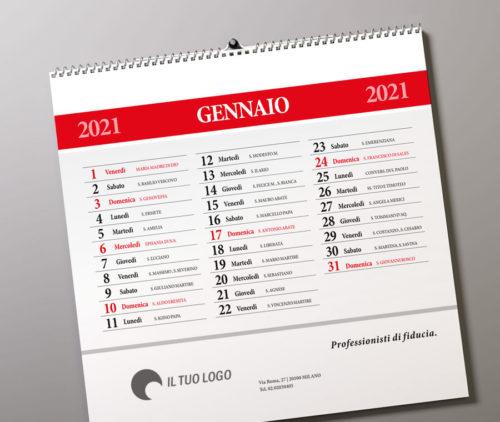 calendario muro