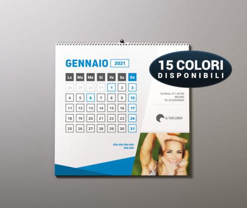calendario da parete personalizzato