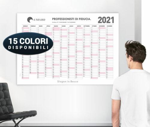 stampa planning da muro personalizzati