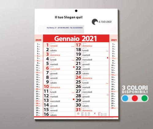 calendario olandese 2021