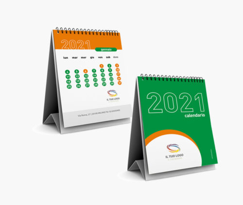calendario da tavola personalizzato