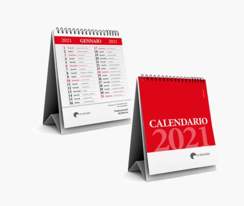 calendario scrivania personalizzato