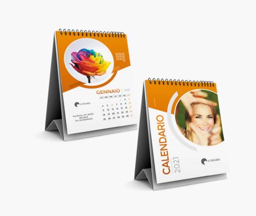 calendario da tavolo con foto